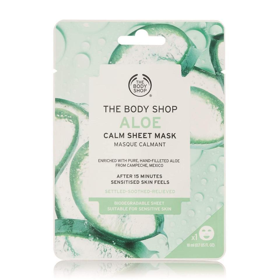 The Body Shop Aloe Calm Hydration Sheet Face Mask