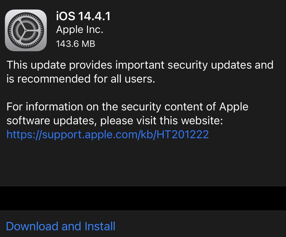The latest iOS update is here, but it might not be the one you're waiting for. It's iOS 14.4.1.