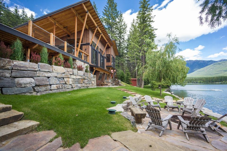 modern mountain home glen lake 516 Glen Lake Drive Eureka, montana