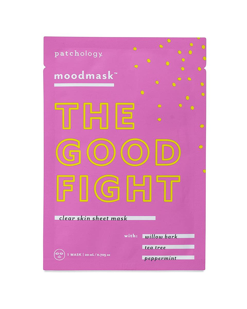 Patchology Moodmask The Good Fight Sheet Mask for Clear Skin