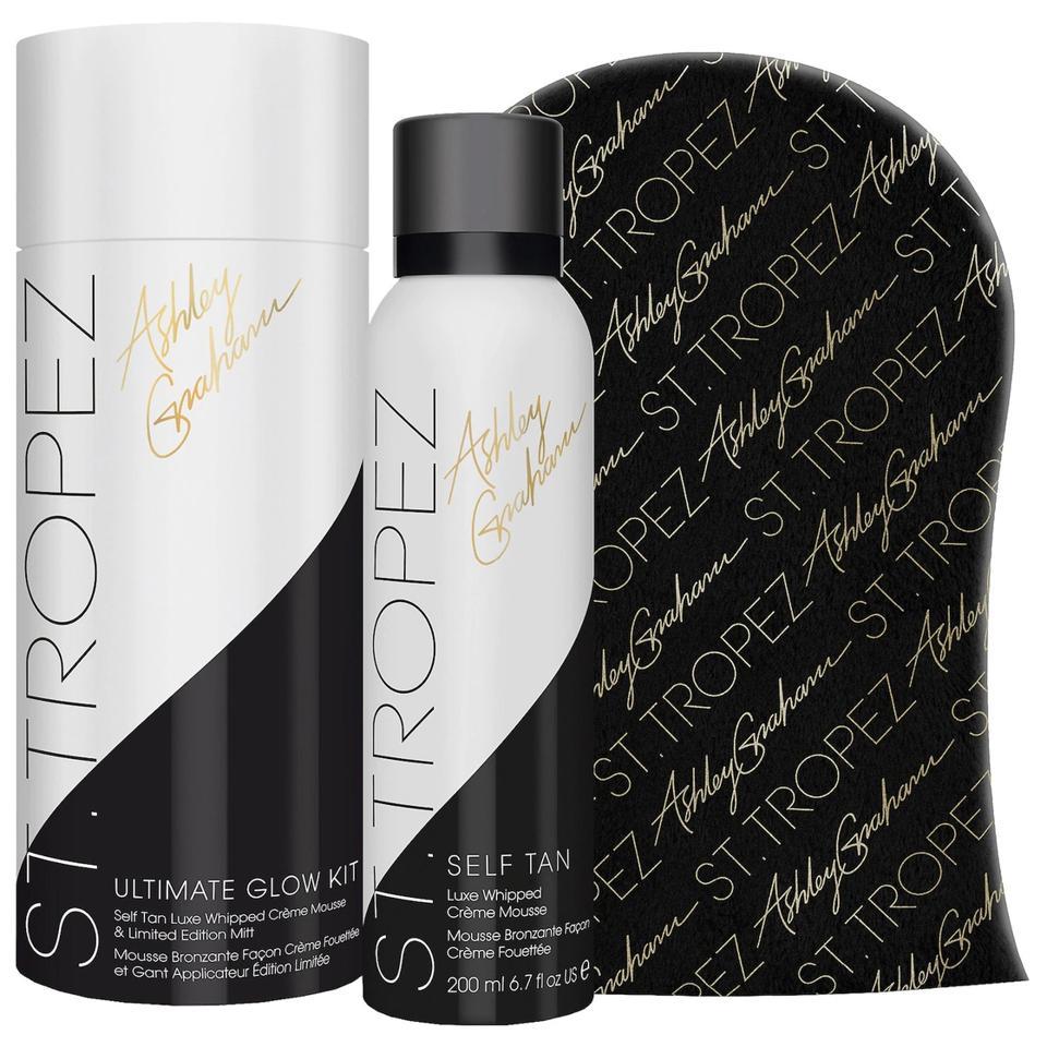 St. Tropez Tan x Ashley Graham Ultimate Glow Limited Edition Foam Kit