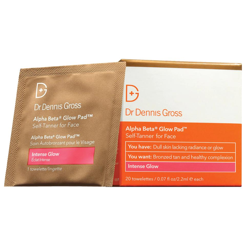Dr. Dennis Gross Skincare Alpha Beta® Intense Self-Tanning Glow Pad for the Face
