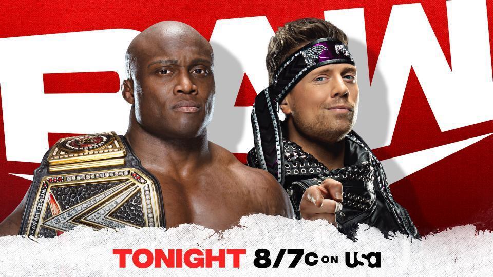 Bobby Lashley's Championship Celebration on Raw