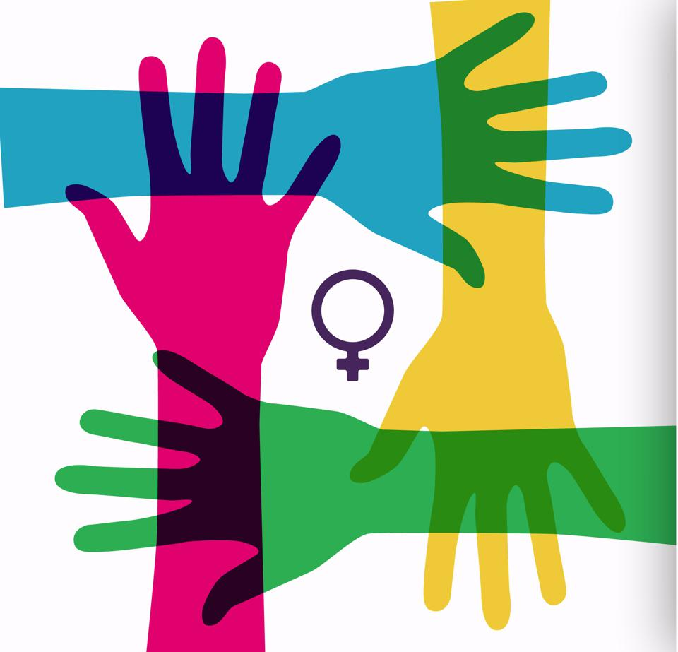 animation of women's hands, ideal footage for women's day