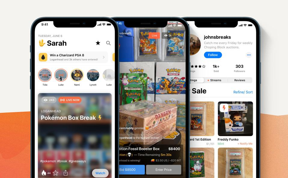 Whatnot is an online marketplace for sports cards and other collectibles.