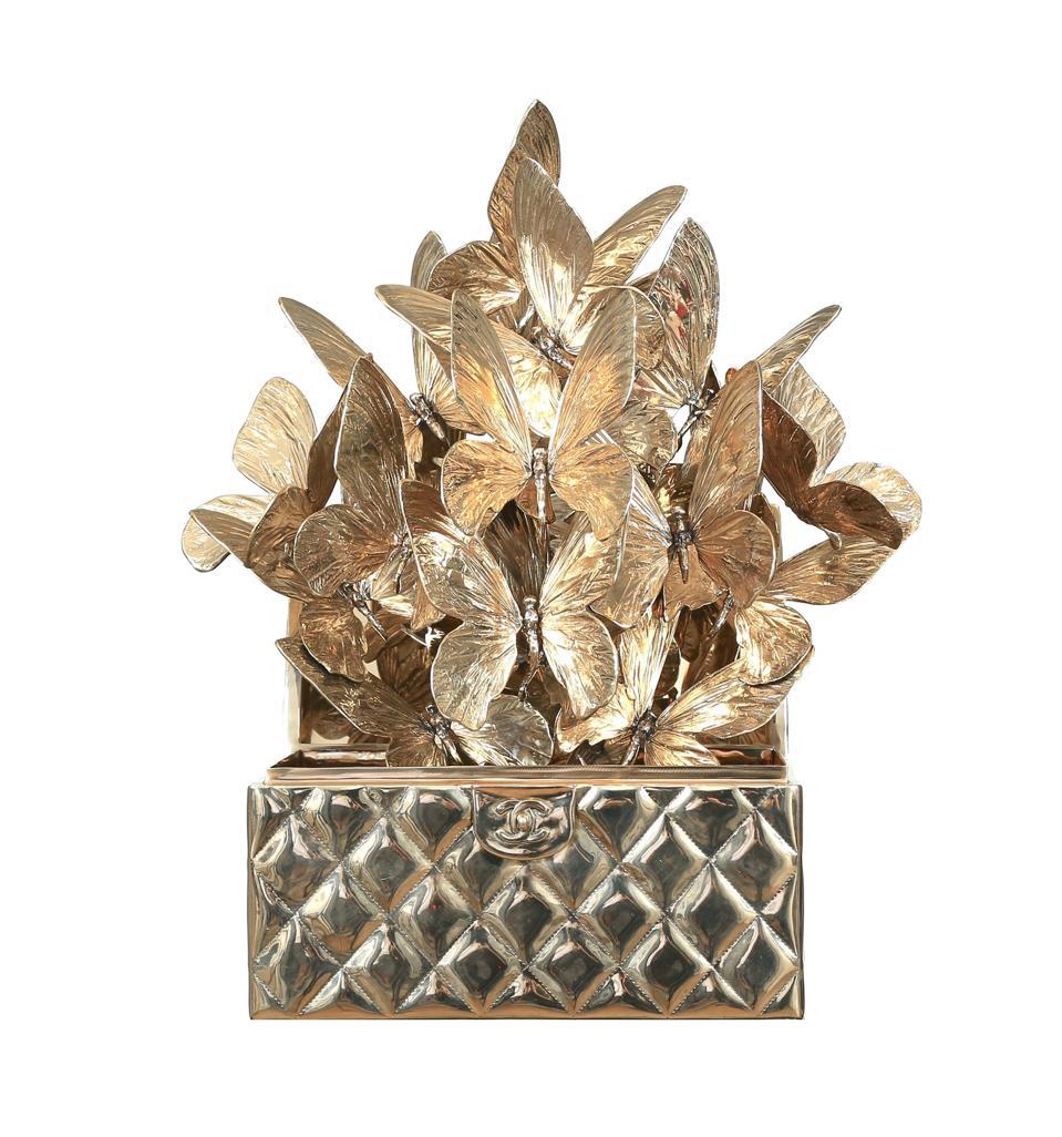 Chanel Metalasse Bronze, 2020, Roman Feral