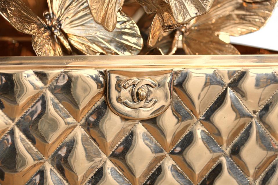 A closer look at Roman Feral's Chanel Matelasse Bronze