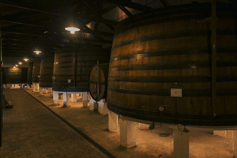 Cellar at Quinta de Ventozelo, Portugal