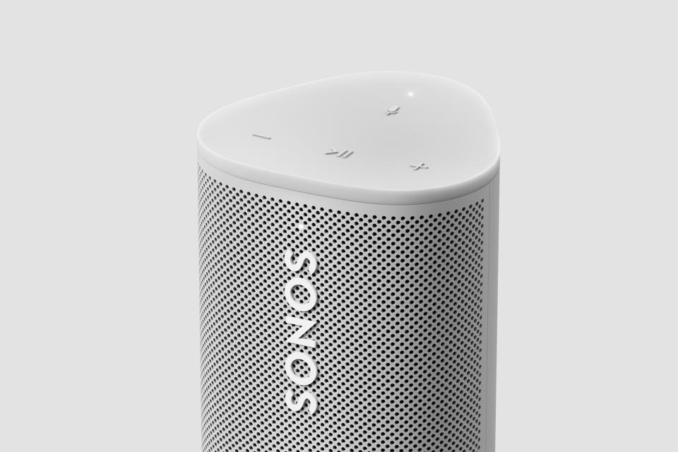 Detail of the Sonos Roam.