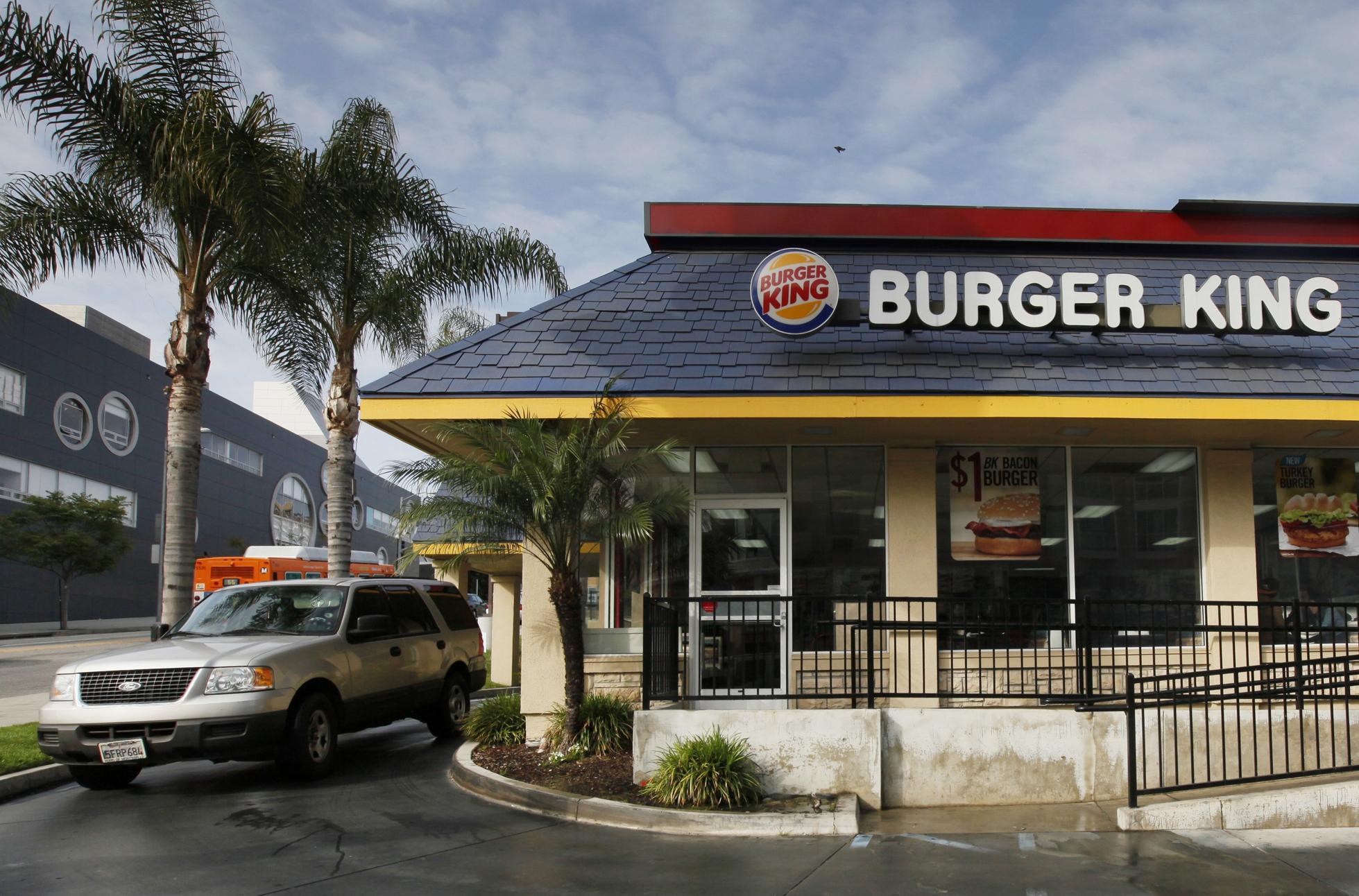 Burger King international women's day kitchen