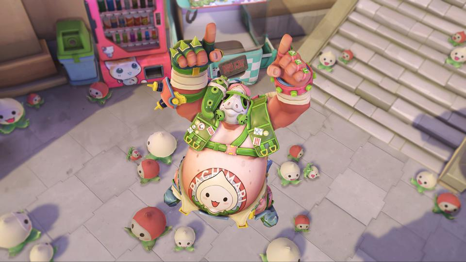 Overwatch's PachiMarchi Challenge Has A Cute Roadhog Skin Up For Grabs