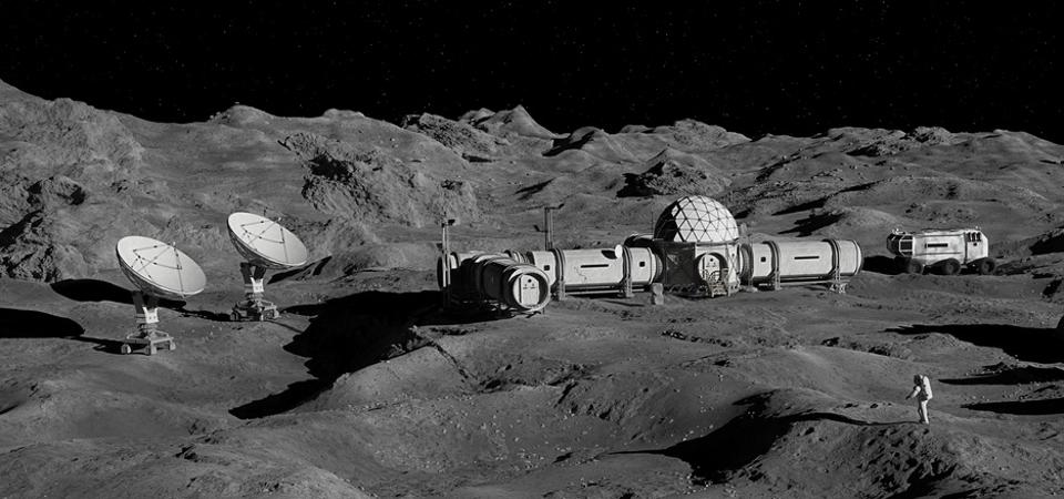 An ambitious project has been unveiled to construct a solar-powered lunar ark in the Moon's underground lava tubes. The plan is to preserve human, animal, plant fungi samples in the event of a global crisis.