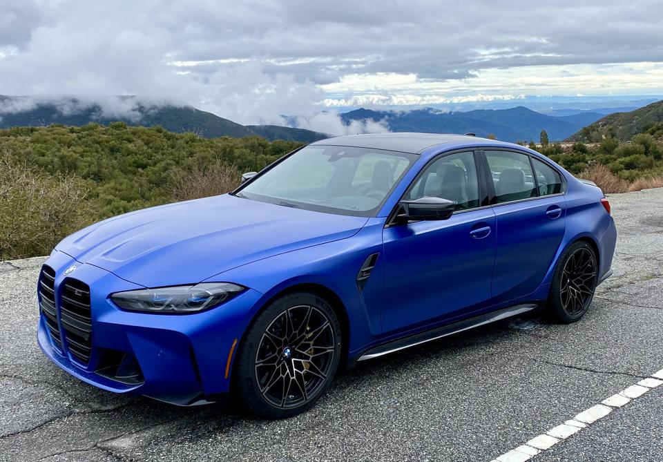 M3 Competition has a 503-horsepower version of the same straight six