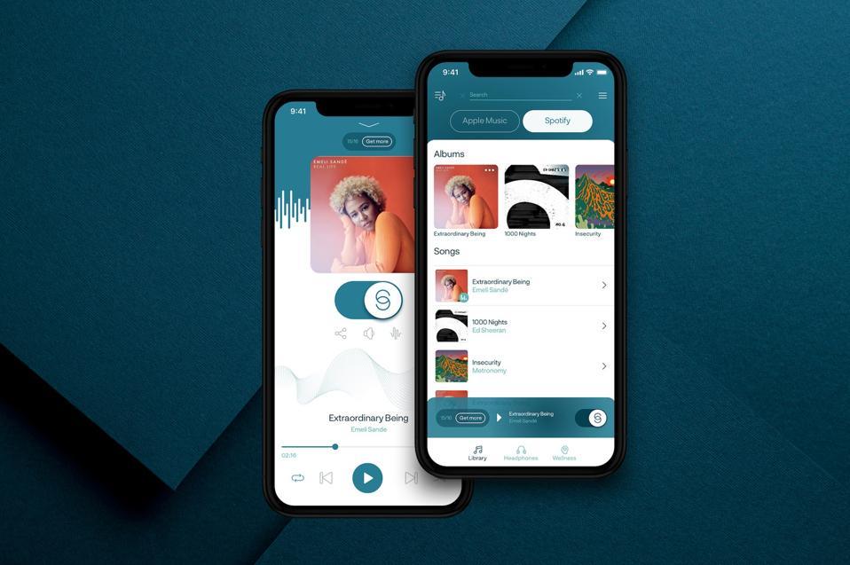 A screenshot of the IRIS app.