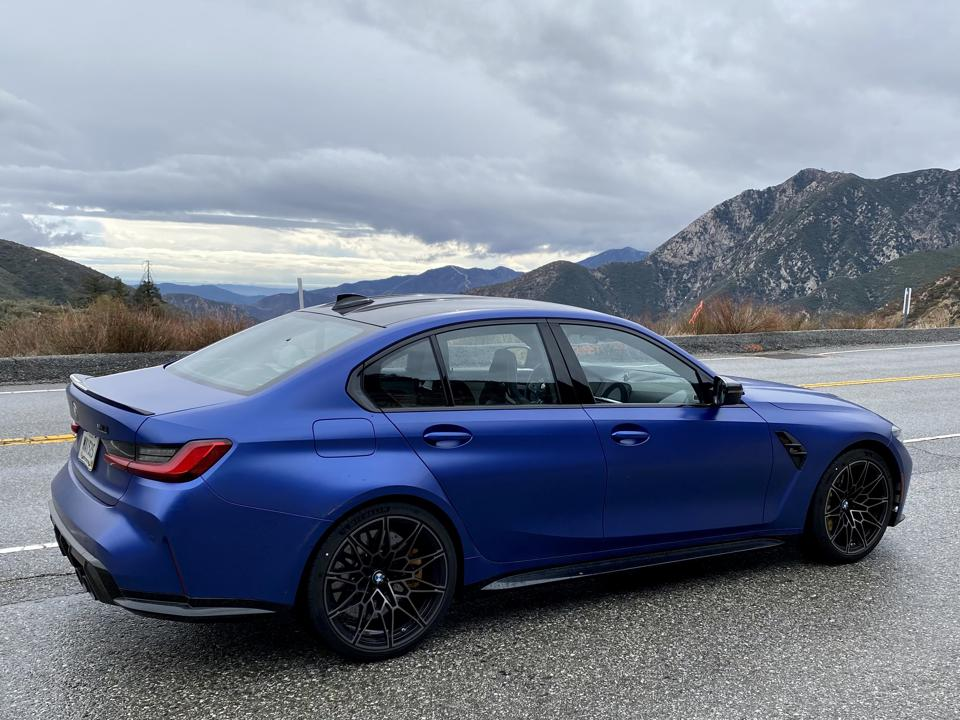 """X-drive available in summer. """"Core"""" M3 and early Competition models will have rear-drive."""