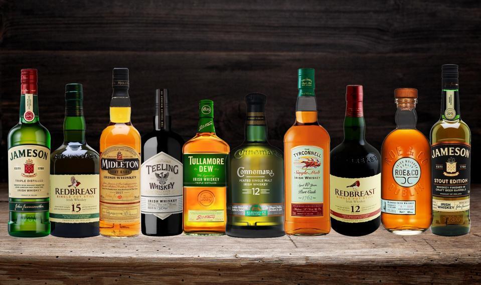 Best Irish Whiskeys for St. Patrick's Day