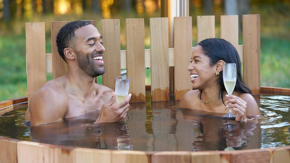 two people in tub