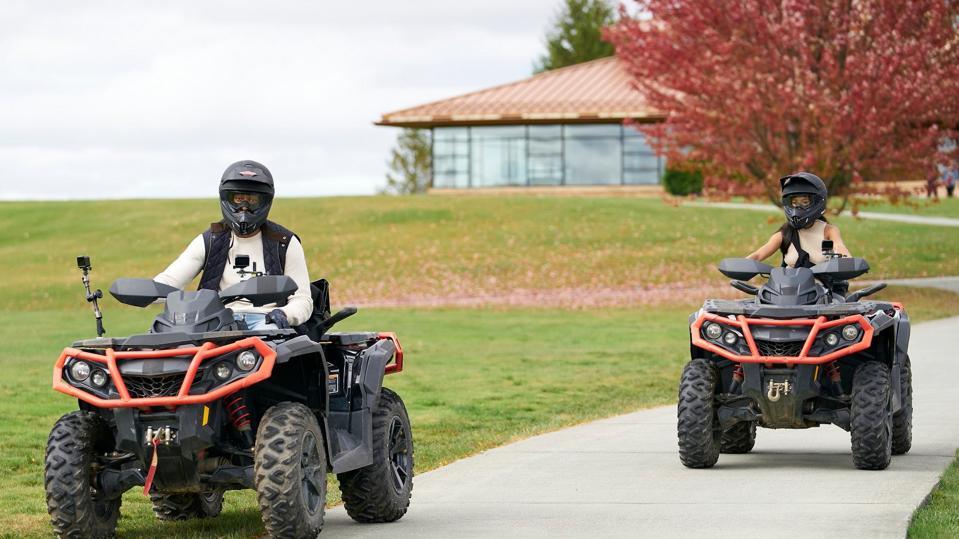 ATV riding