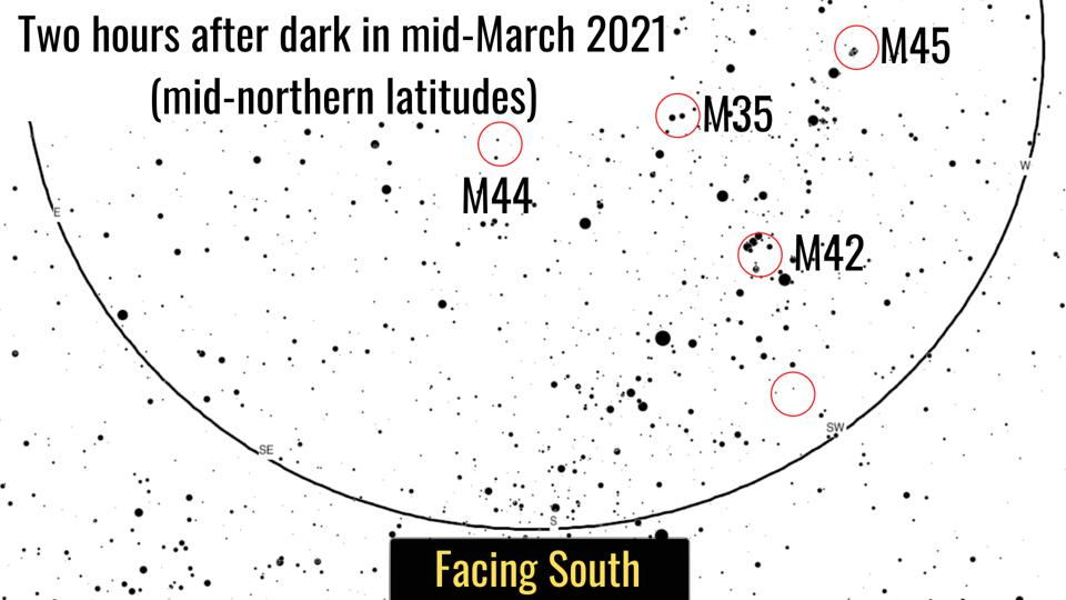 How to find four ″Messier″ objects this week.