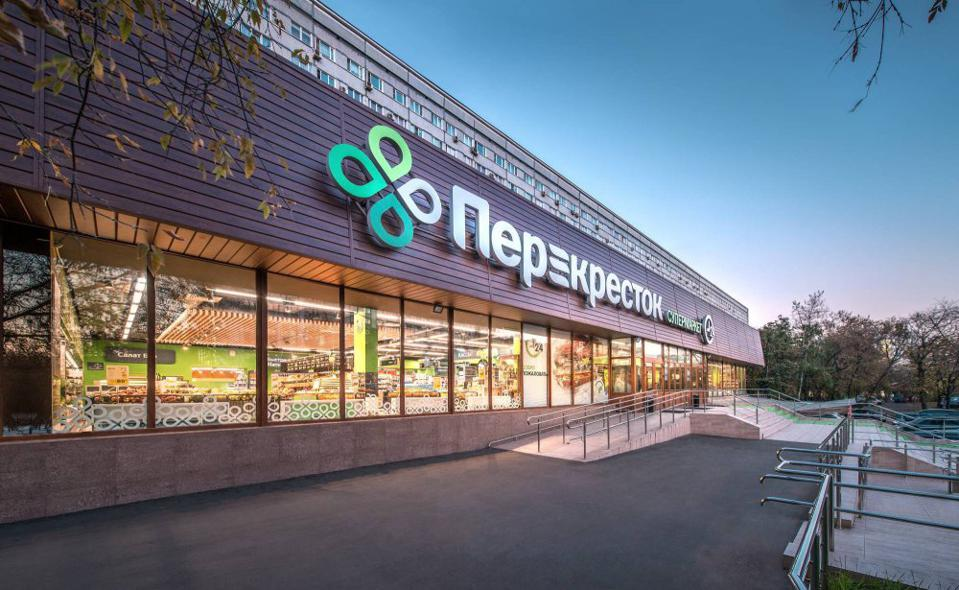 Perekrestok supermarkets, Russia, biometrics