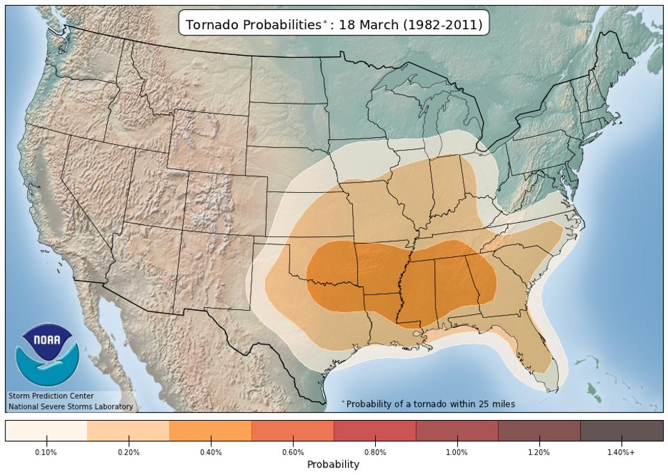 March tornadoes
