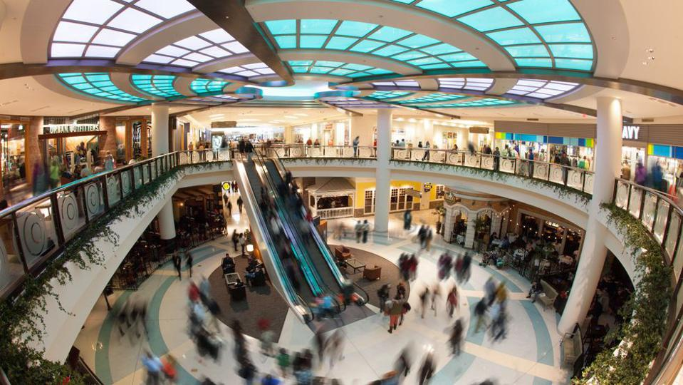 Shopping malls are among the sectors most directly affected by the pandemic.