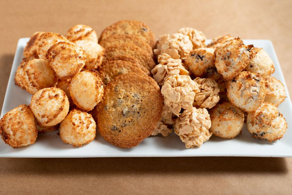 Passover cookies and macaroons from Breads Bakery