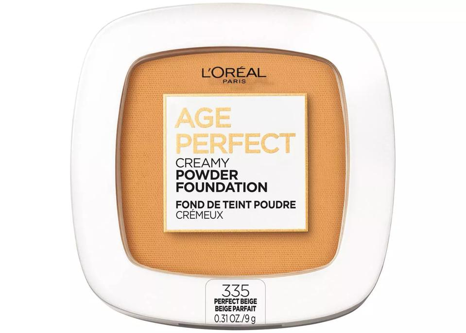 Best Powder Foundations: L'Oreal Paris Age Perfect Creamy Pressed Powder Foundation