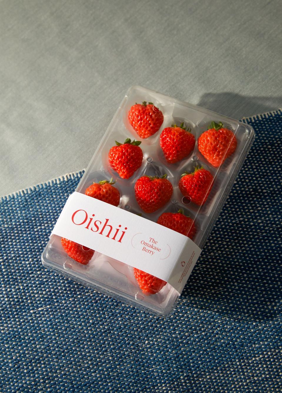 Oishii's Omakase berry