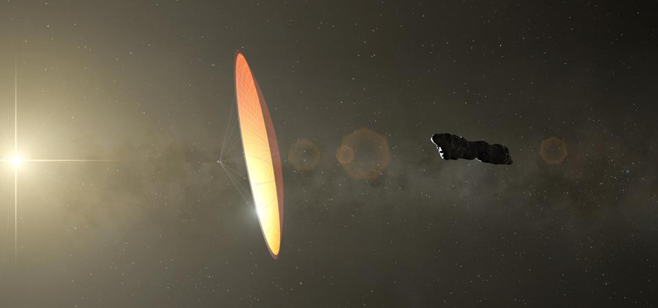 Oumuamua, illustration