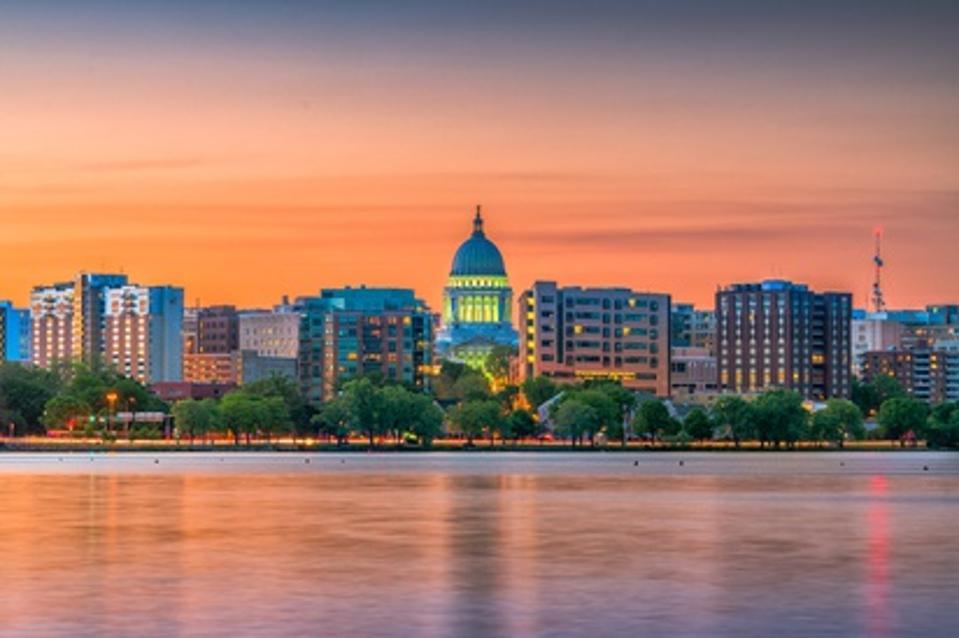 Madison, Wisconsin, USA Skyline