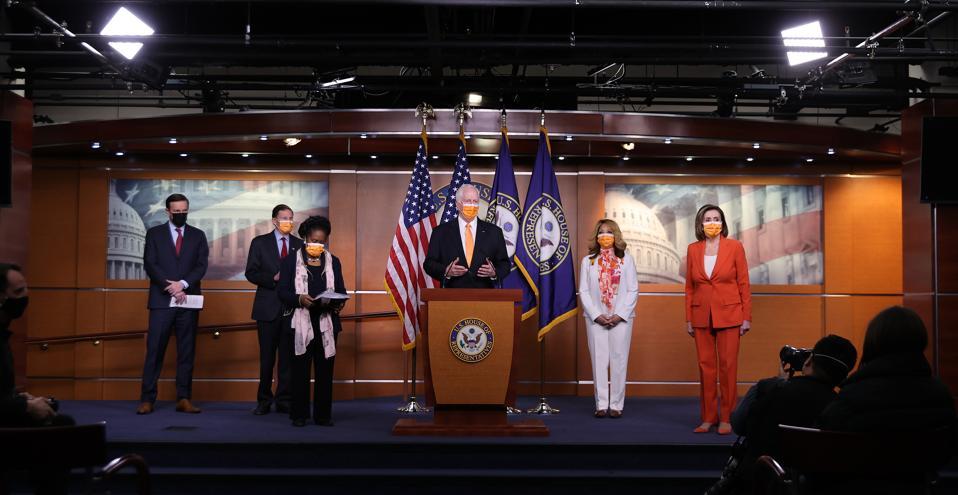 Congressional Democrats Discuss Gun Control Legislation ″Bipartisan Background Checks Act of 2021″