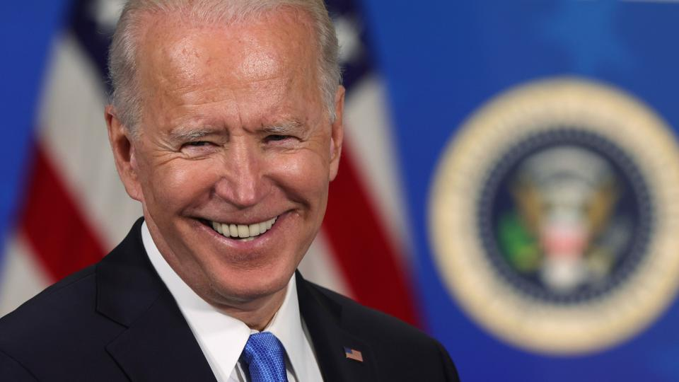 President Biden Hosts Event With Johnson & Johnson And Merck CEOs