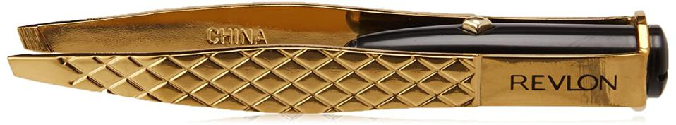 Revlon Gold Series Lighted Slant Tweezer