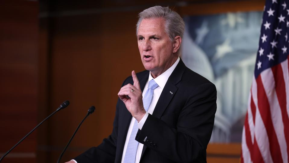 House Minority Leader McCarthy Holds Weekly News Conference