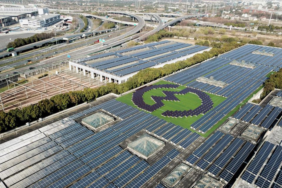 Photovoltaic Power Station In Shanghai