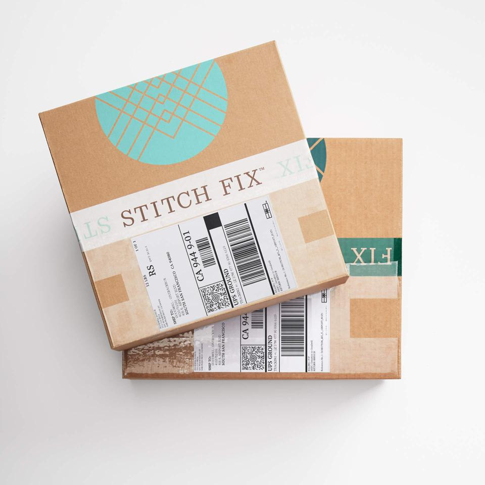 Stitch Fix boxes for mailing
