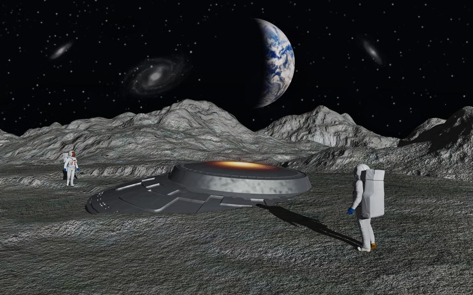 """From UFO crash sites on other planets and aliens """"lurking"""" on asteroids to a permanent radio telescope on the far side of the Moon, a new NASA-funded study into the search for intelligent extraterrestrial life (SETI) details how future NASA missions could purposefully look for """"technosignatures."""""""