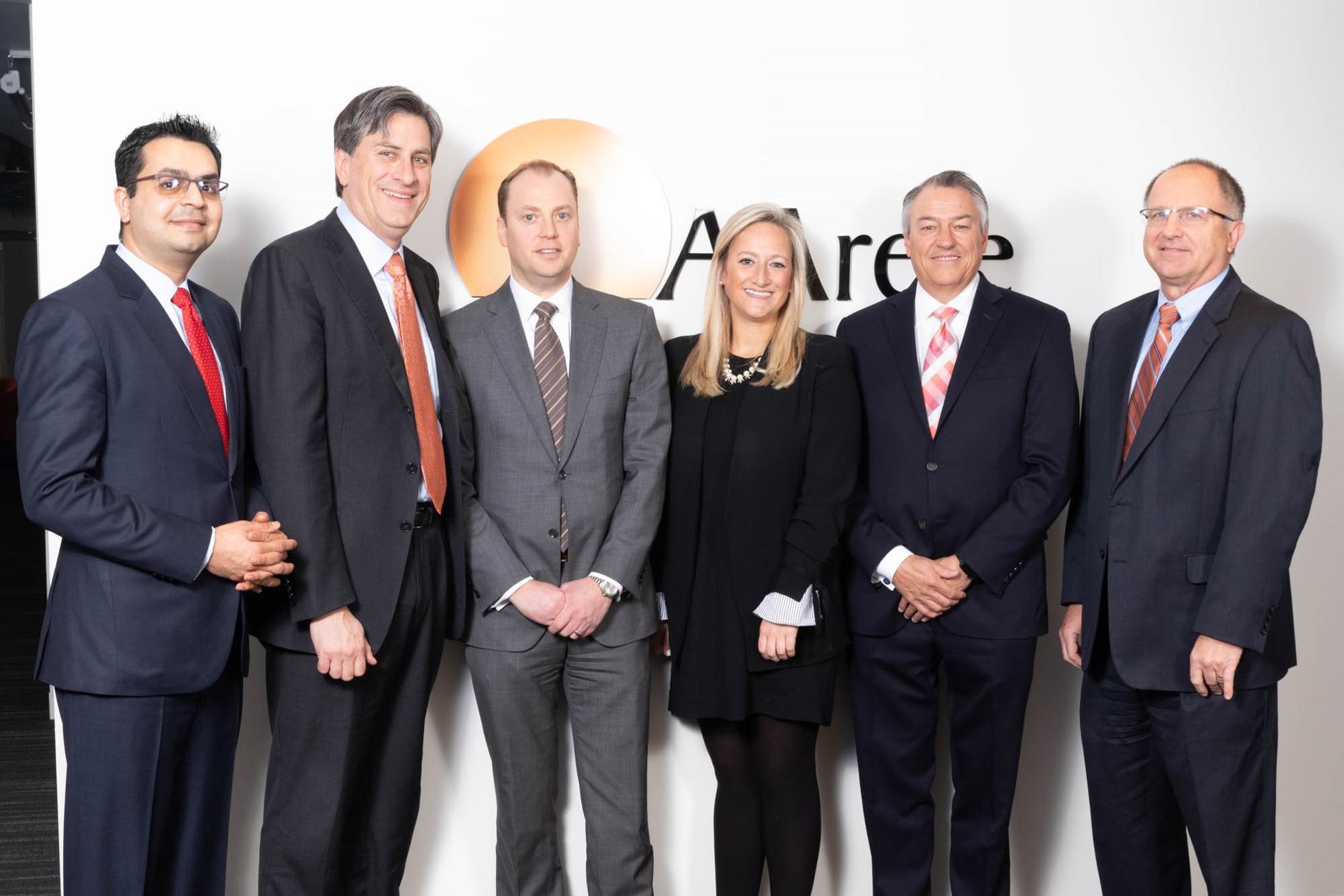 Part of AArete's leadership team