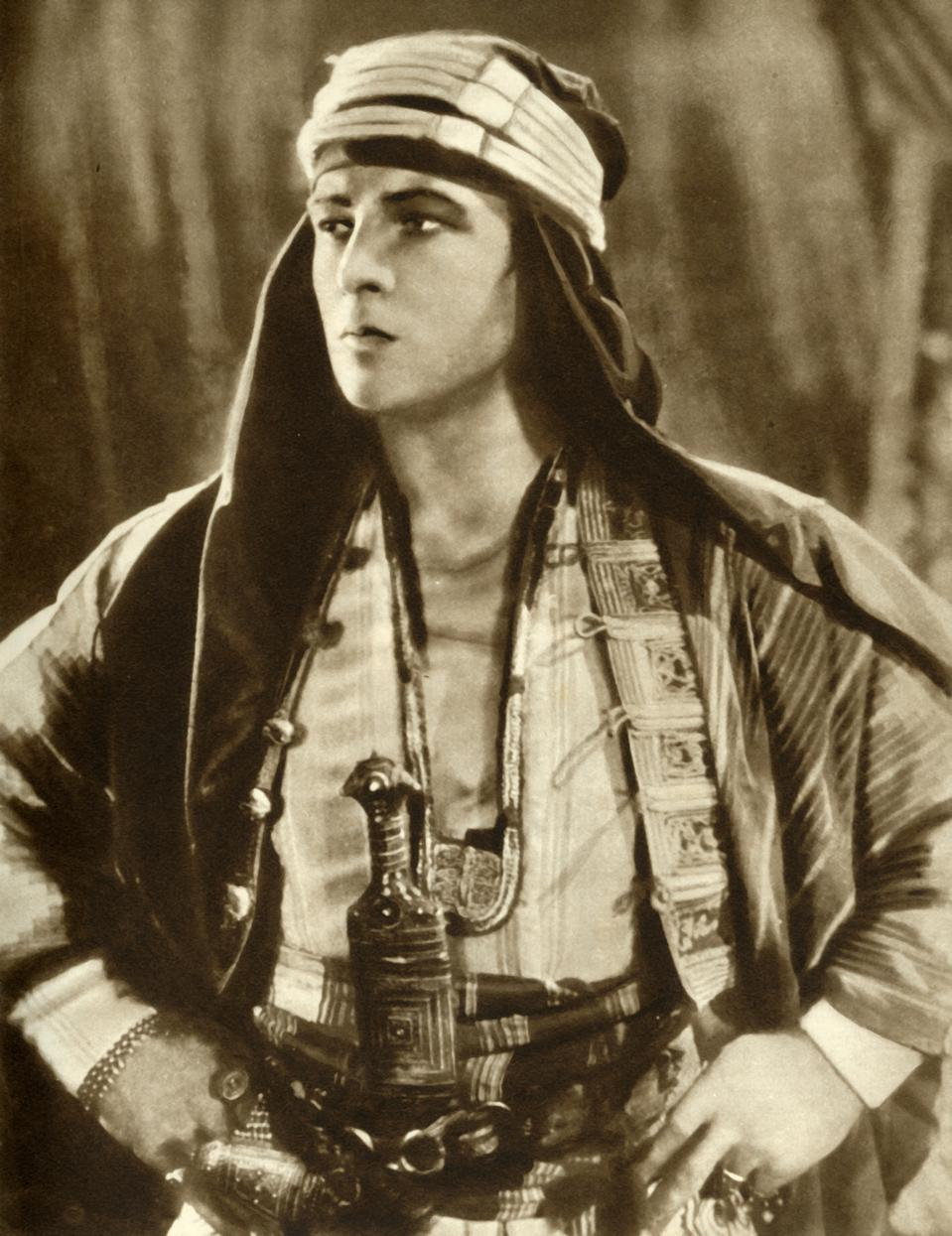 Rudolph Valentino In ″The Sheik″