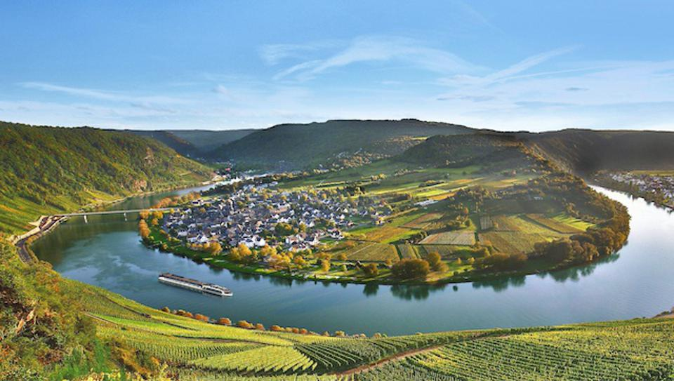 Moselle Bend in Germany