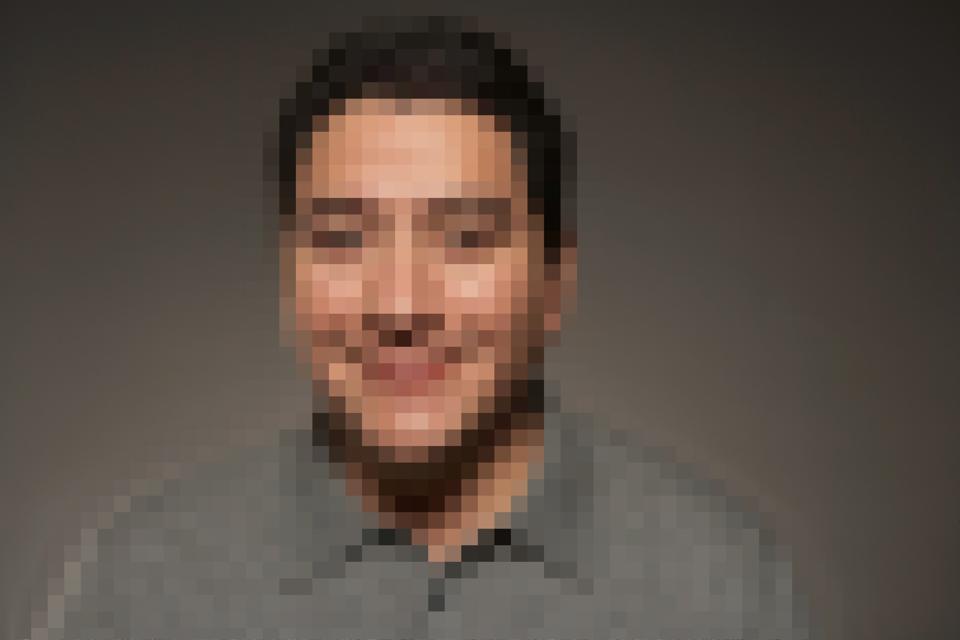 Pixelated Man