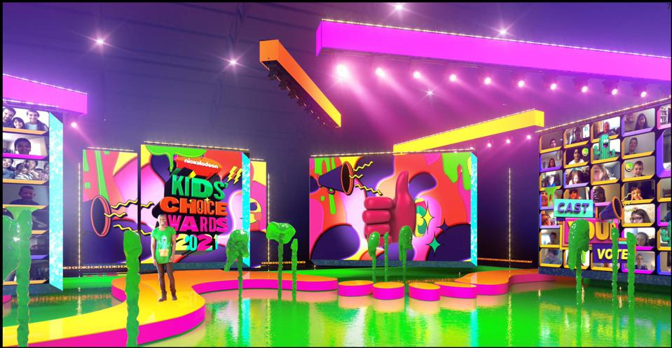 The Nickelodeon KCAs stage will be surrounded by a slime lagoon.