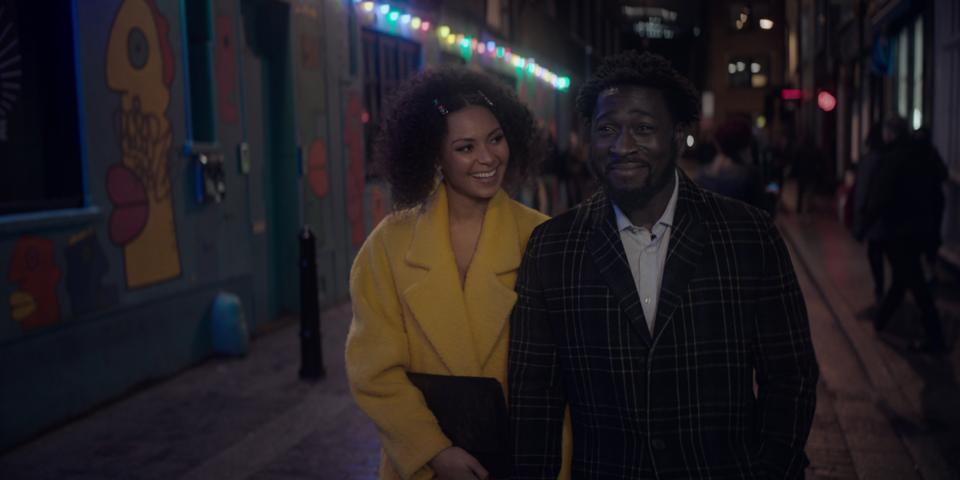 Lois Chimimba and Eric Kofi-Abrefa in 'The One'
