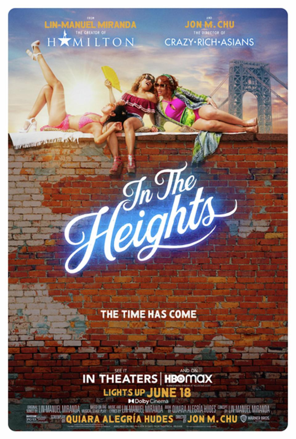 'In The Heights' poster