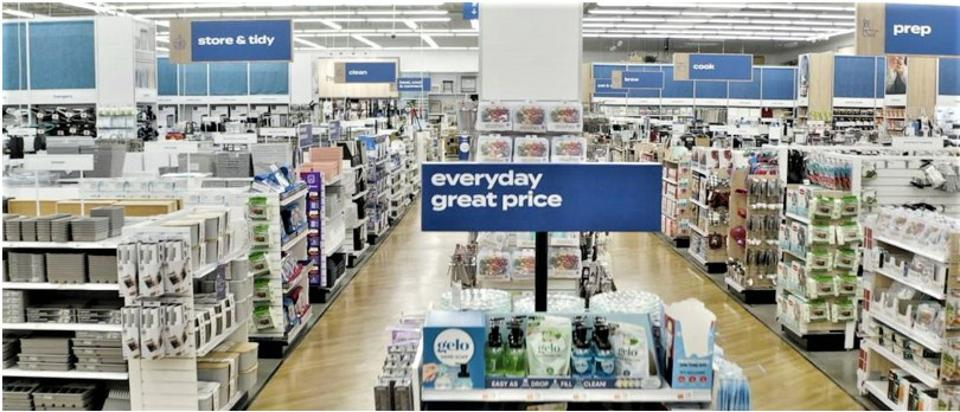 Openness and clarity mark the key attributes to Bed Bath & Beyond's remodels.