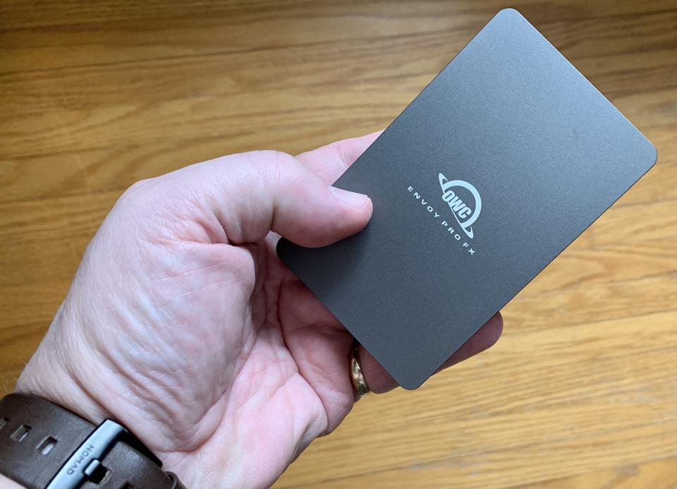 OWC Envoy Pro FX Portable SSD review