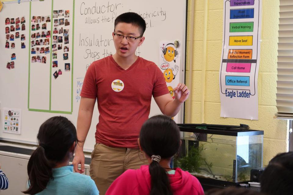 Barron Prize winner Bill Tong began his work in seventh grade, frustrated by recurring trash in his neighborhood.