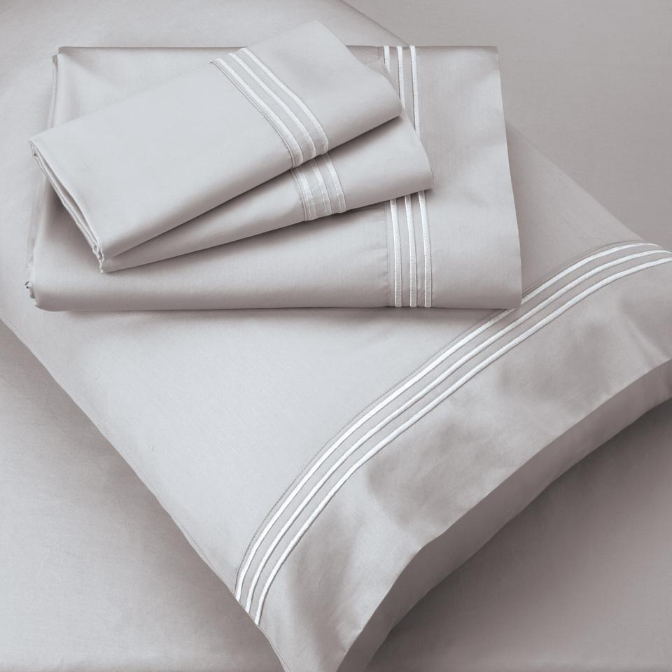 A grey set of Purecare Celliant Recovery Sheets.