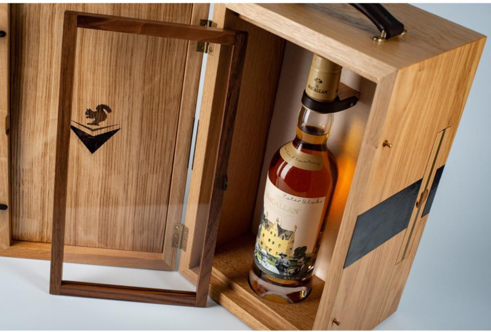 Lot 1 at Sotheby's, The Macallan 1967 Anecdotes of Ages Collection, sold for over $400,000.